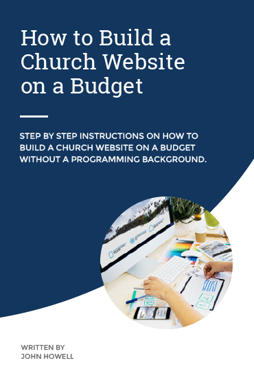 Build a Church Website